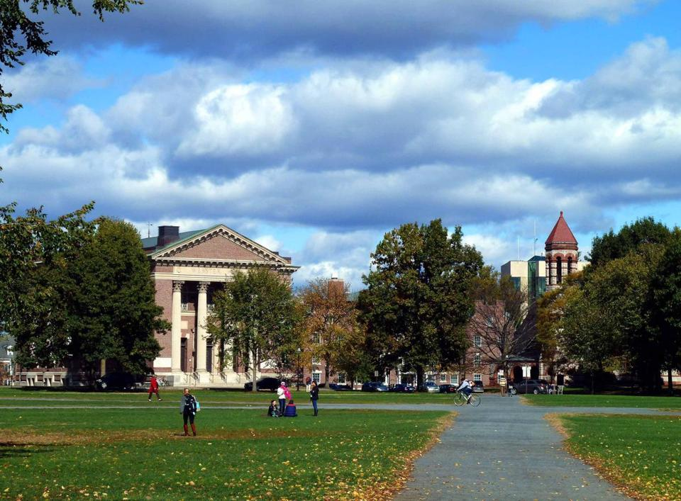 College Green is the center of outdoor public life in Hanover.
