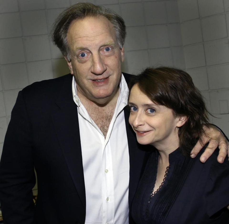 Alan Zweibel and Rachel Dratch.