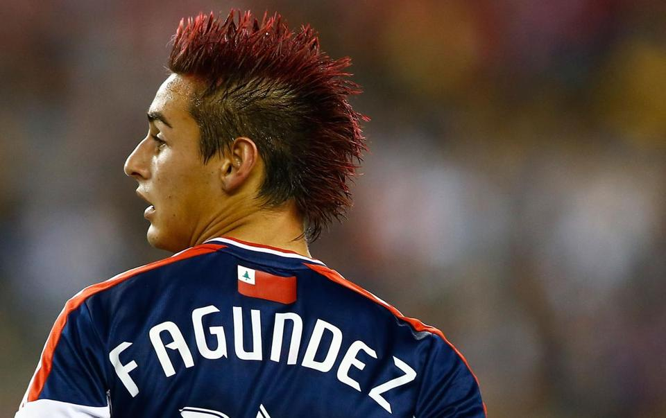 Diego Fagundez's first-half goal lifted the Revolution.
