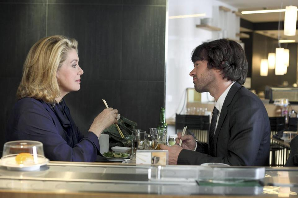 "Catherine Deneuve and Romain Duris in ""The Big Picture.''"