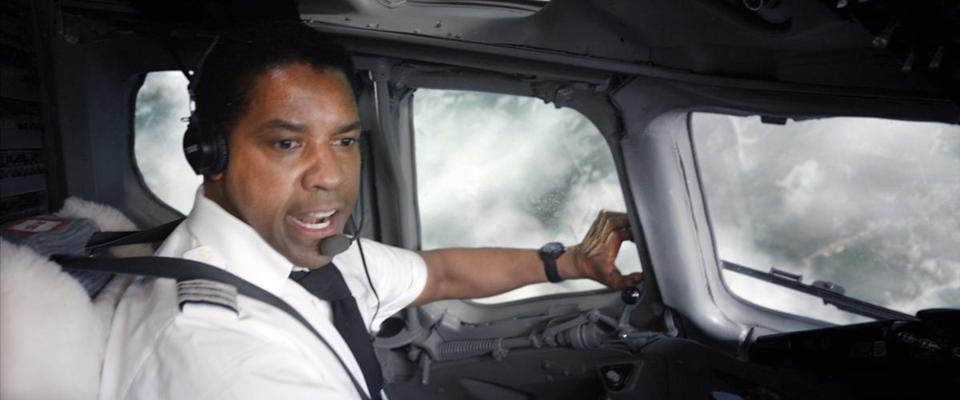 Denzel Washington plays an alcoholic pilot who is a hero after he makes an emergency landing of a passenger airplane.