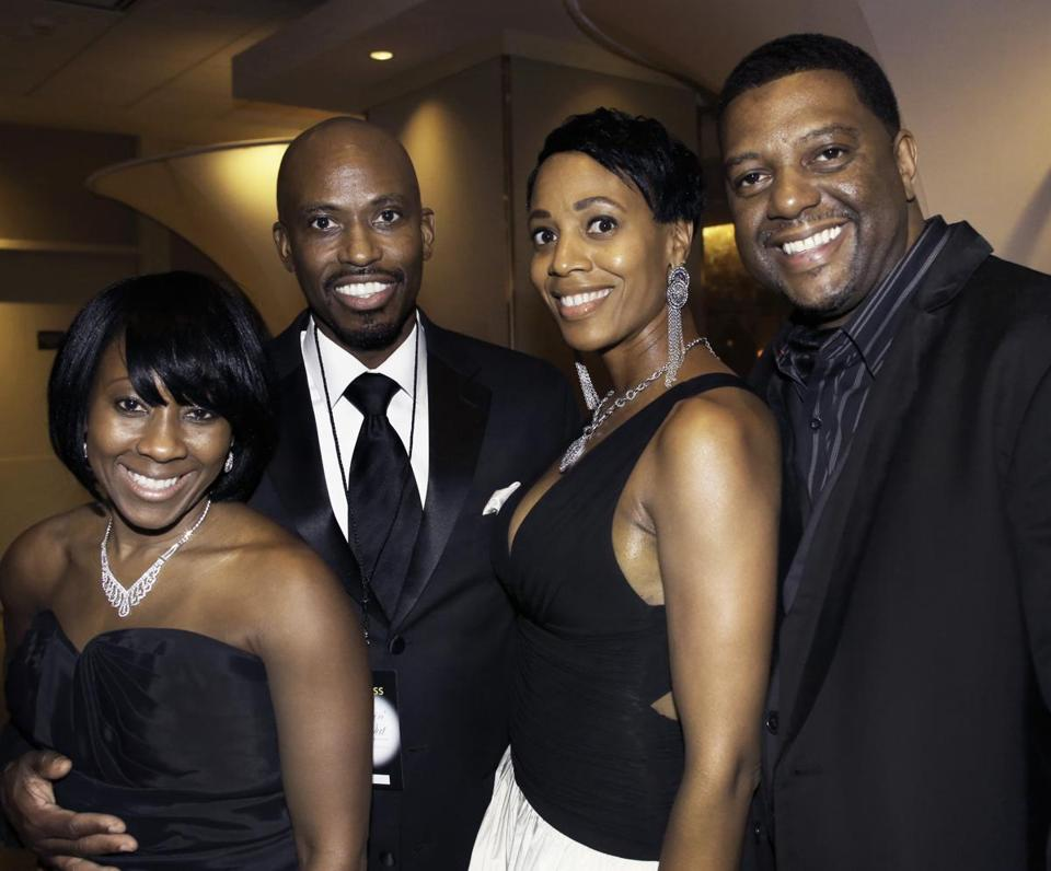 From left: Danielle and Roy Green with Charlene and Jonathan Talley at the Westin Copley Place.