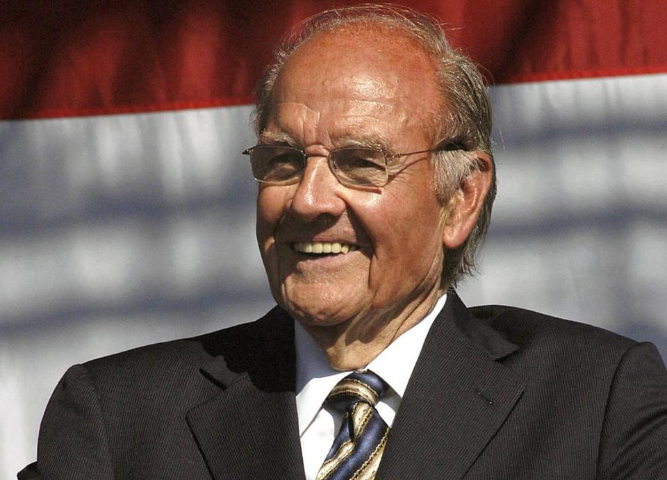 George McGovern had affection for Massachusetts, the only state he carried in the 1972 presidential election.