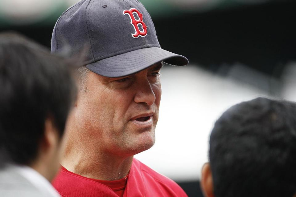 John Farrell will be back wearing a Red Sox uniform, this time as the team's manager.
