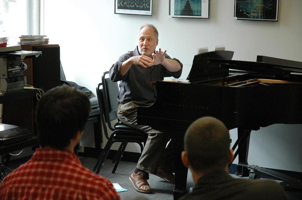 Anthony Coleman teaches classes as part of the Contemporary Improvisation department at the New England Conservatory.