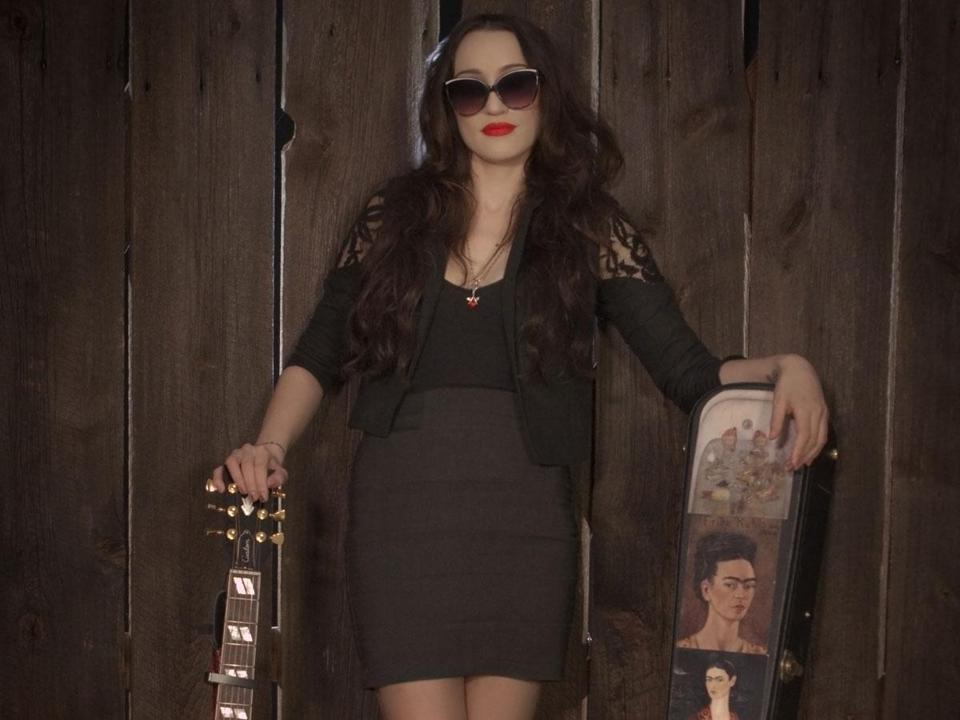 """My music is outlaw and traditional country, with little speckles and spatterings of blues and soul and folk and roots and rock,'' says Lindi Ortega."