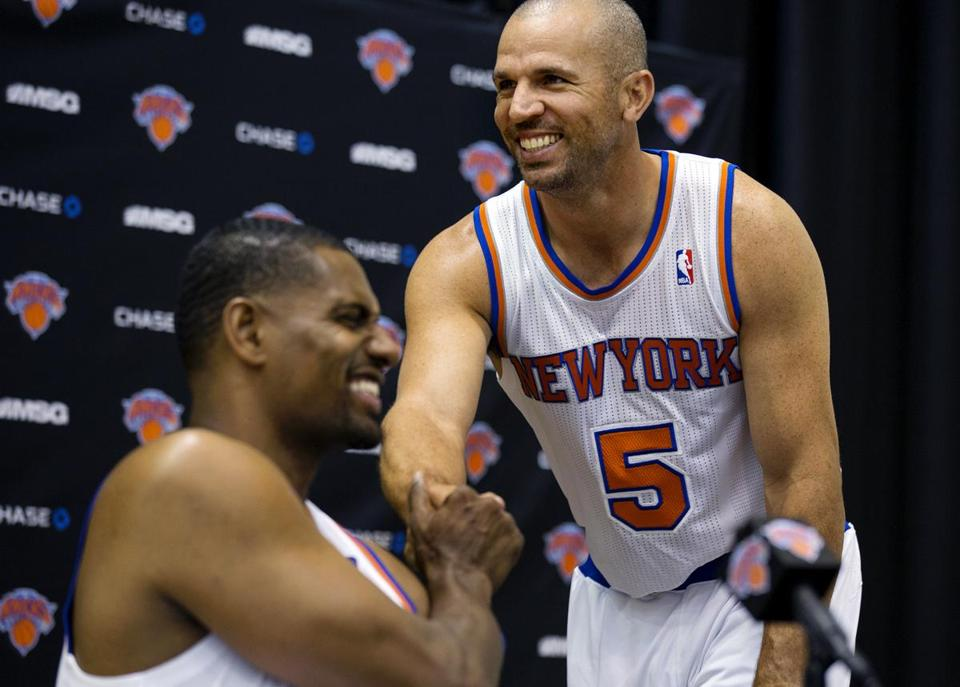 Jason Kidd will be playing for the Knicks this season.