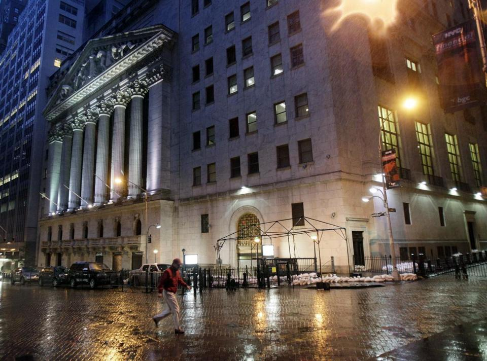 With much of lower Manhattan covered in water, the New York Stock Exchange is closed for a second day Tuesday. There had been plans to allow electronic trading, but officials decided it was too risky to ask any personnel to staff the electrionic trading.