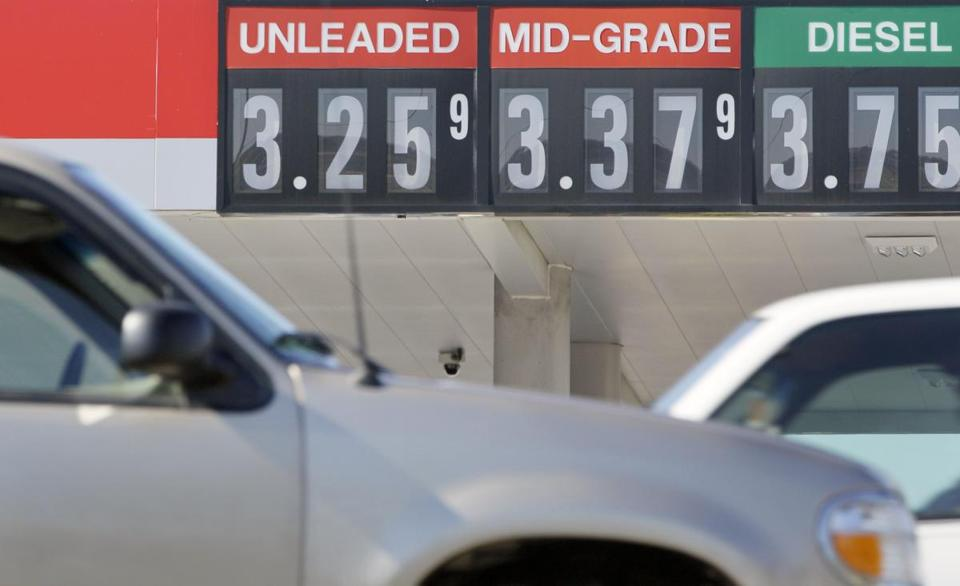 The national average for a gallon of gasoline is about 26 cents less than it was a month ago.