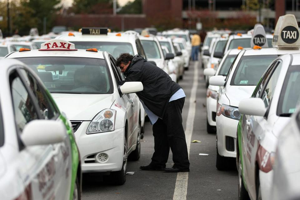 Many taxi drivers considered the arrival of Uber and Lyft at Logan as a death knell. The airport had been the one place where they were protected against competition by app-based ride-hailing operations.