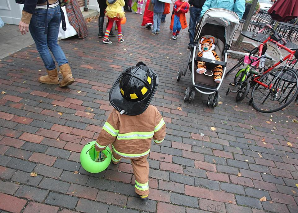 In this file photo, children in Lexington went trick-or-treating.
