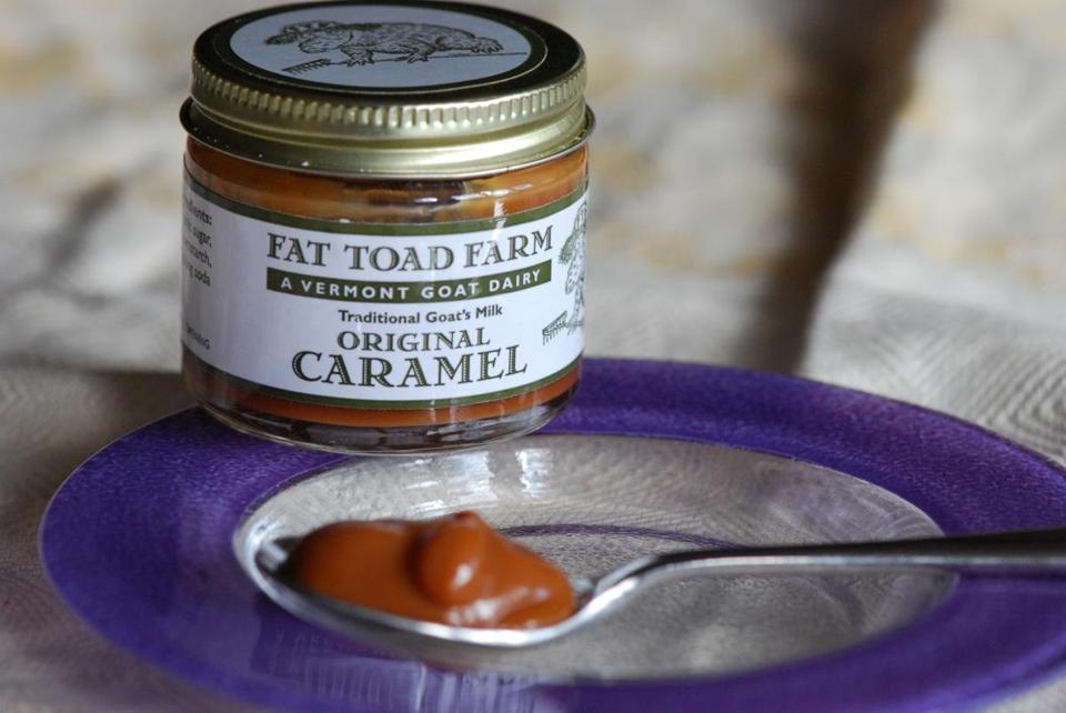 Fat Toad Farm's Original Caramel.