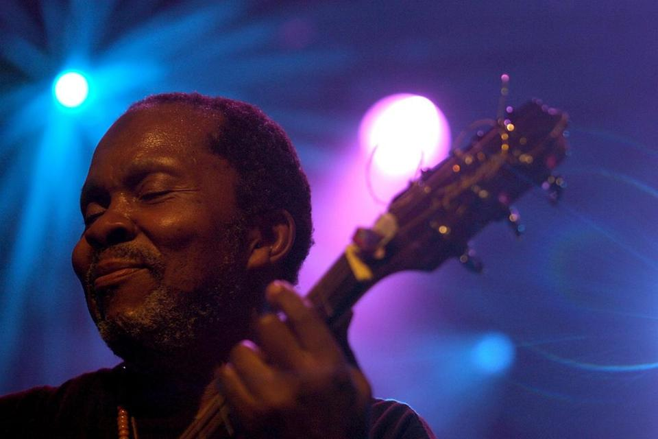 Terry Callier performed at the 2006 Montreux Jazz Festival in Switzerland.