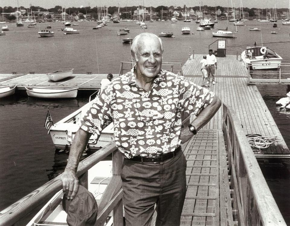 Even when Mr. Sides was in his 70s and 80s, he hoisted his boat to the water without help.