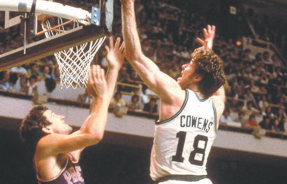 Dave Cowens played his entire career with the Celtics save for his last year, when he played in Milwaukee.