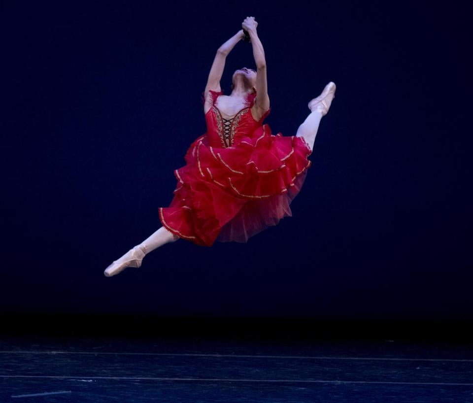Yoshiko Kamikusa in the 2012 Boston International Ballet Competition gala at the Cutler Majestic Theatre.