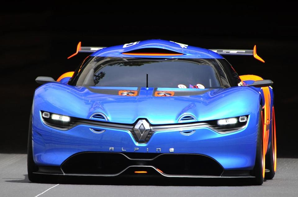 Renault's Alpine A 110-50 was on display in May.