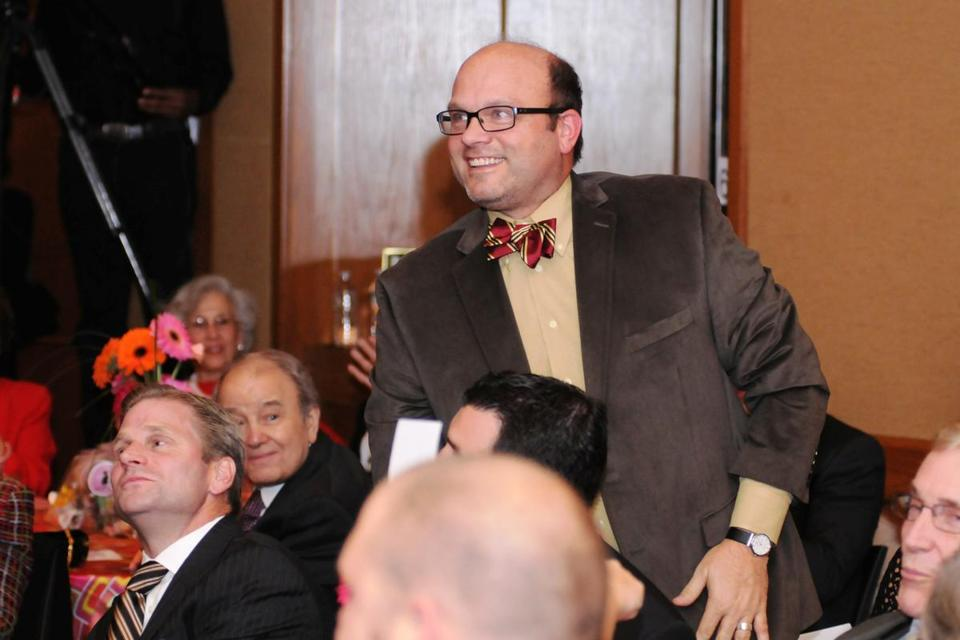 Peter Chiarelli at Mount Auburn Hospital's annual gala.