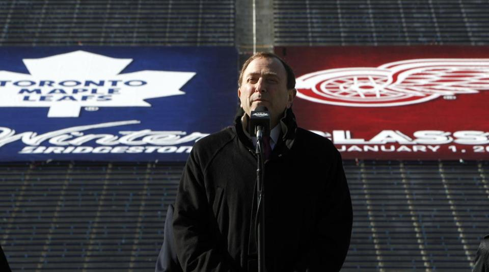 The lockout scrapped Gary Bettman's Winter Classic plans.