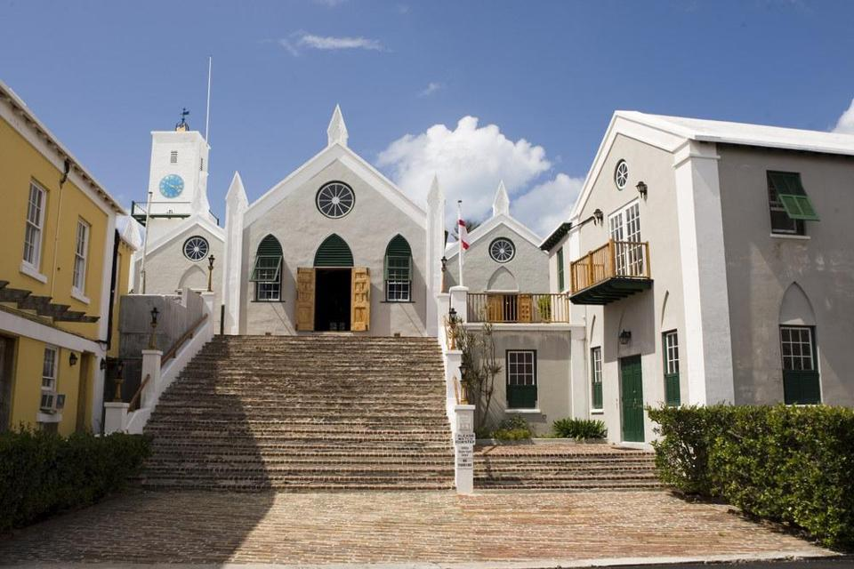 St. Peter's Church in St. George's, Bermuda, marks its 400th anniversary this year.
