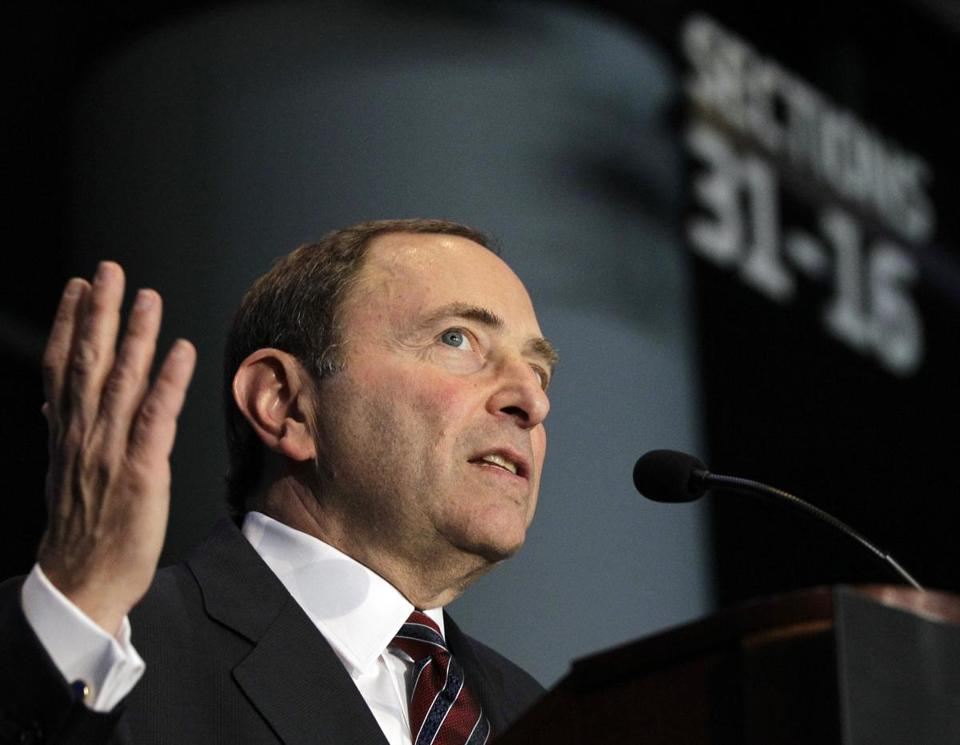 Both sides kept details close to the vest after the meeting that lasted more than seven hours. NHL commissioner Gary Bettman was part of the talks.