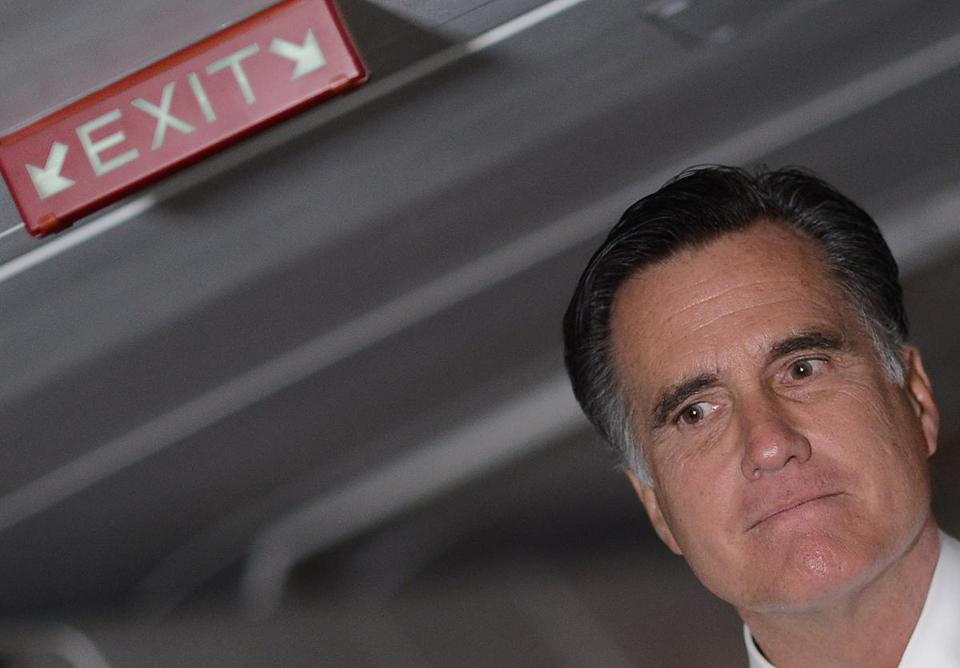 For Mitt Romney, there is no more campaign plane, daily schedules, or battery of aides.