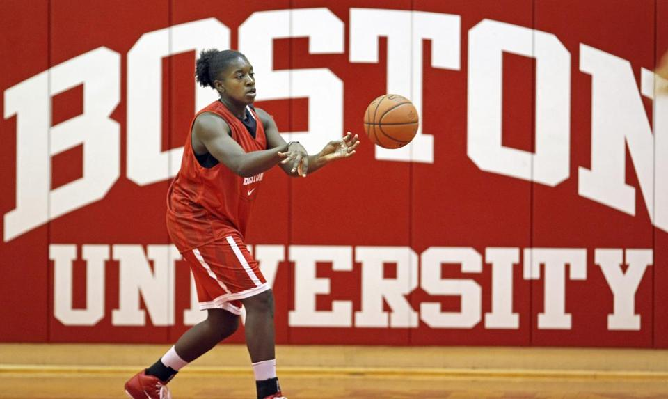 Chantell Alford, a two-time America East Player of the Year, will take charge for BU.