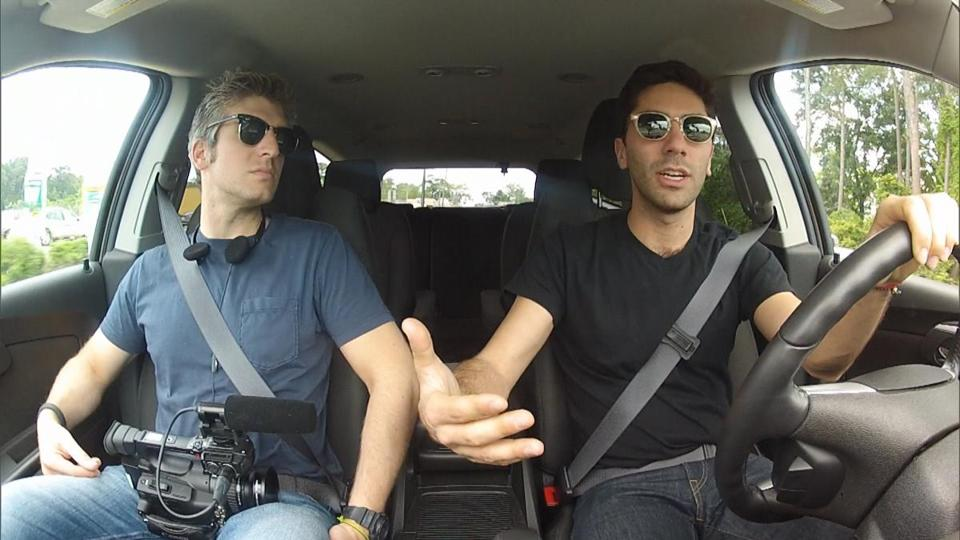 "Max Joseph (left) and Yaniv ""Nev"" Schulman explore the pluses and minuses of online affairs in ""Catfish: The TV Show."""