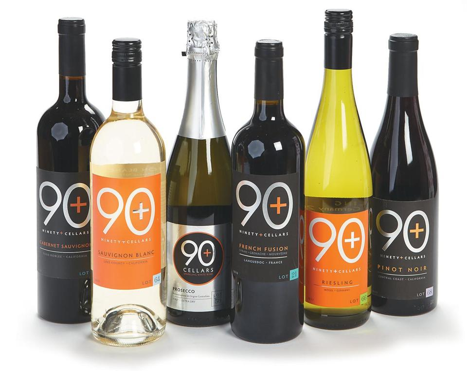 "90+ Cellars ""Holiday Essentials"" six-bottle selection, $60 at Pioppi's, 183 Court Street, 508-746-1943, pioppis.com."