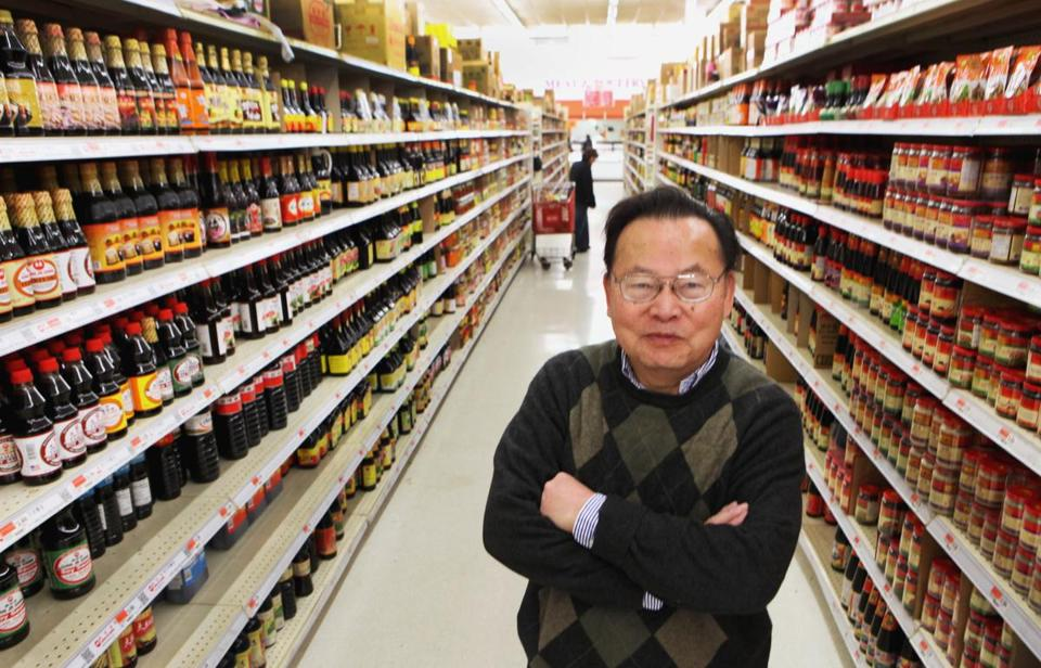 Wan C. Wu, general manager of Kam Man Food supermarket, which has doubled in size in 10 years, said he underestimated the store's business potential.