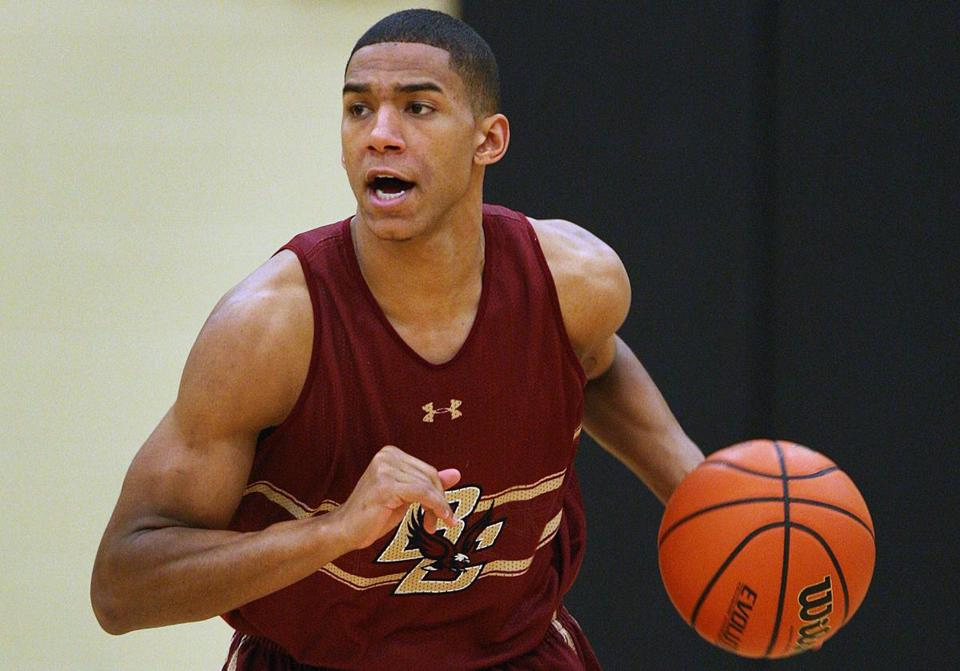 BC freshman Olivier Hanlan left Canada to find top competition.