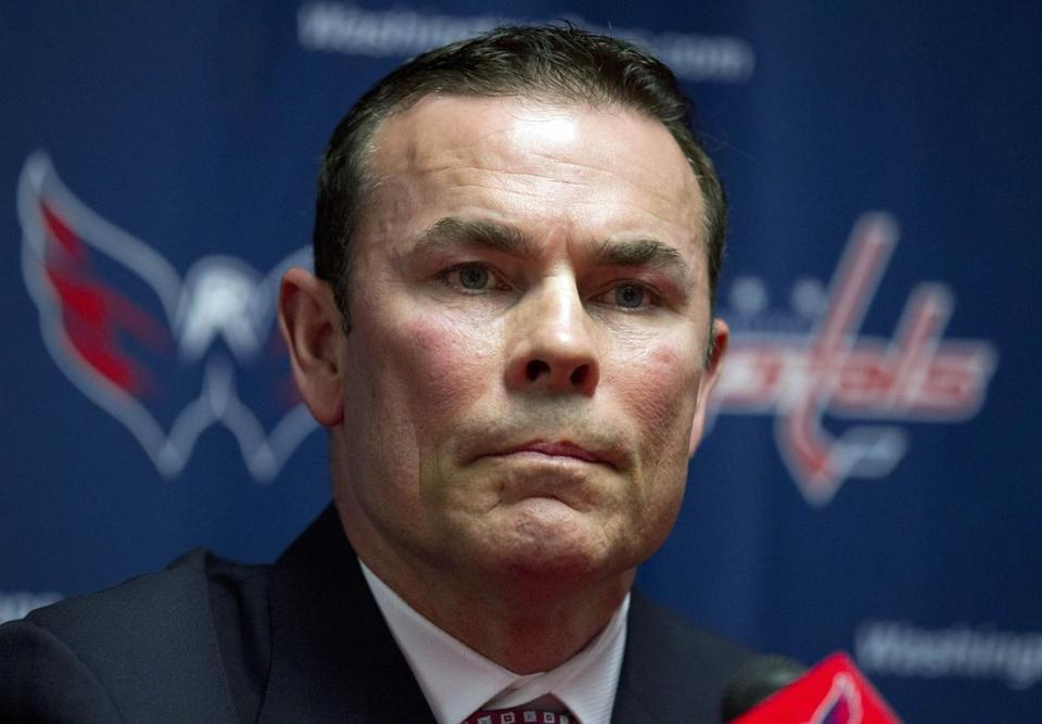 Adam Oates is waiting for his first game as the Capitals' head coach.