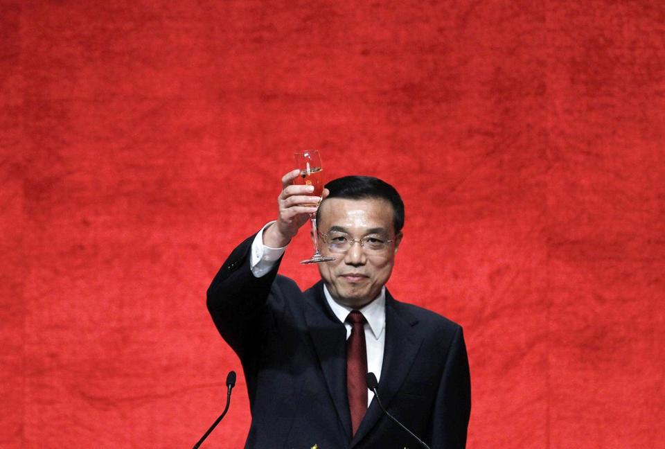 Li Keqiang will be promoted within the Communist Party's top council after a key party congress ends later this week.