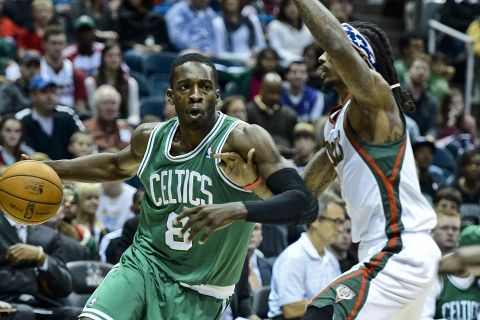 Jeff Green scored 10 of his season-high 12 points during the second half agains the Bucks, adding to the team's whopping 32 fourth-quarter points.