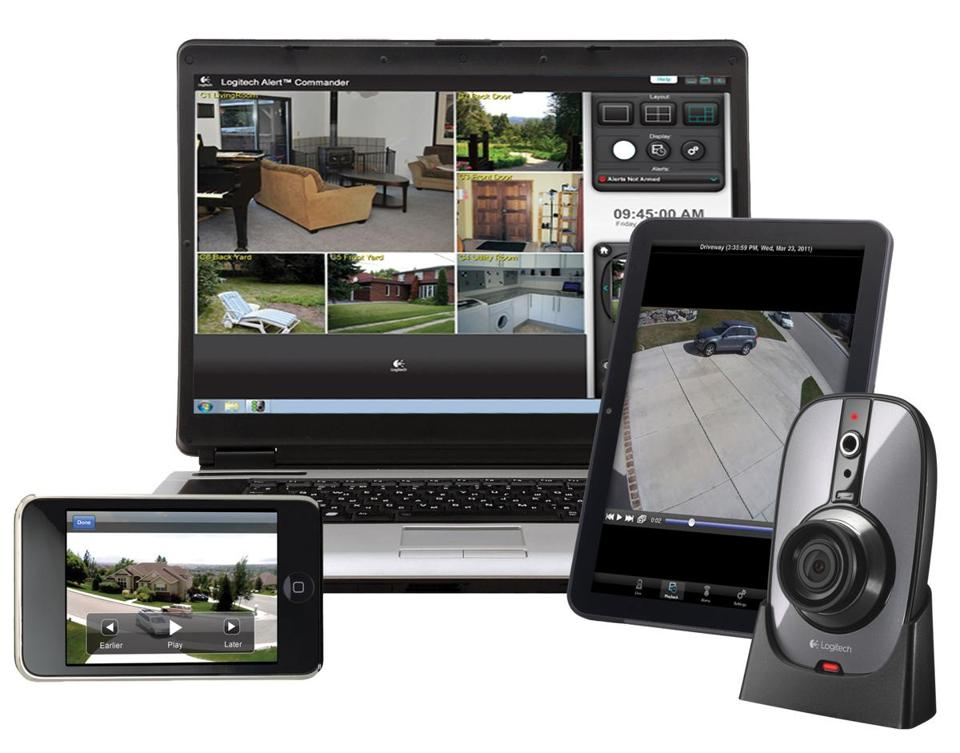 The Logitech Alert 750n Indoor home security system is among a number of remote-controlled technologies that are gaining favor.