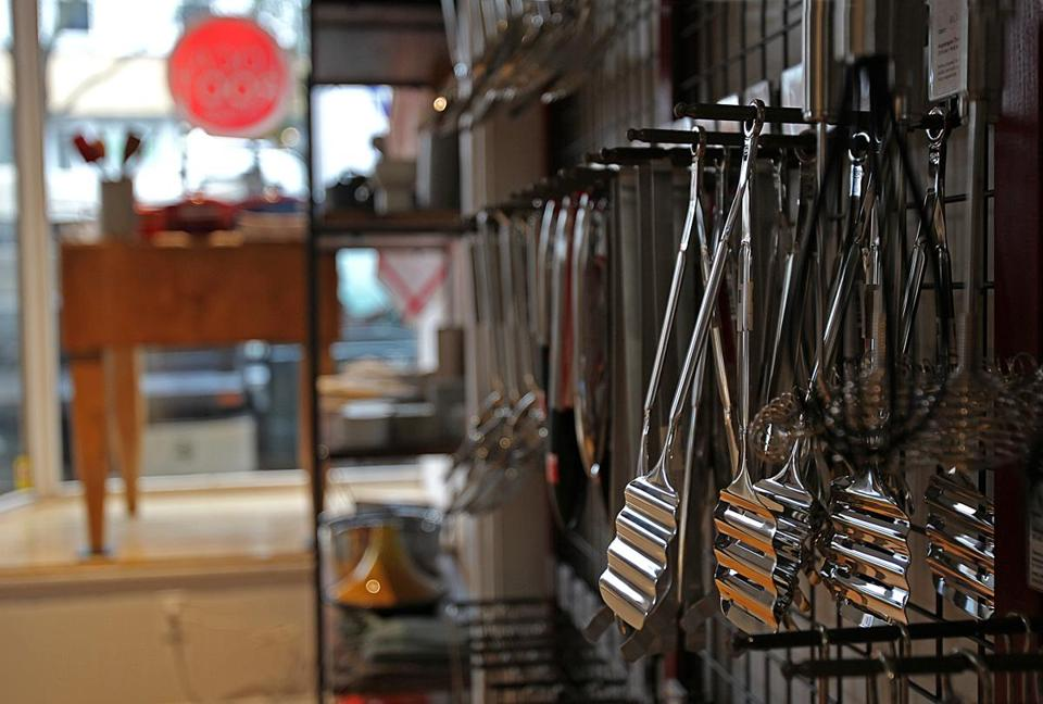 Cooking utensils at Local Root.