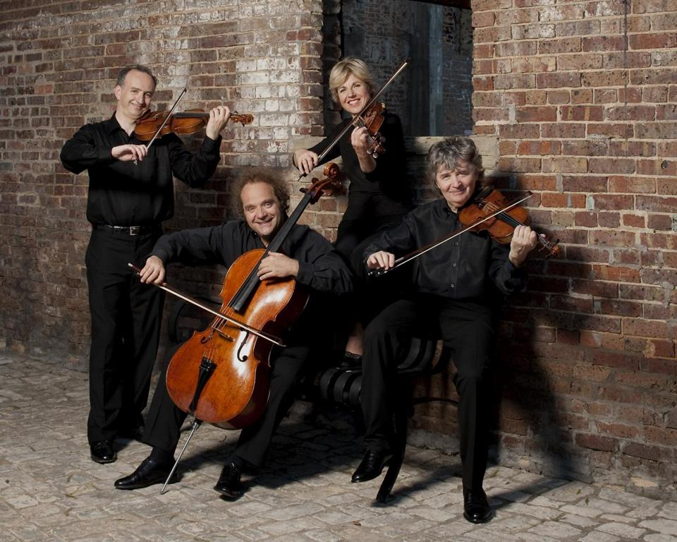 The Takács Quartet played Jordan Hall earlier this month.