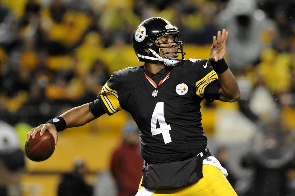 Byron Leftwich will be leading the Steelers when the play the Ravens on Sunday.