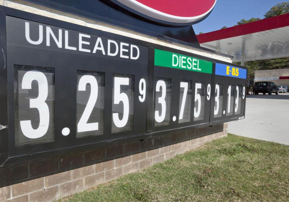 The price of gas has dropped recently, but the US average is up 9.21 cents from a year ago.
