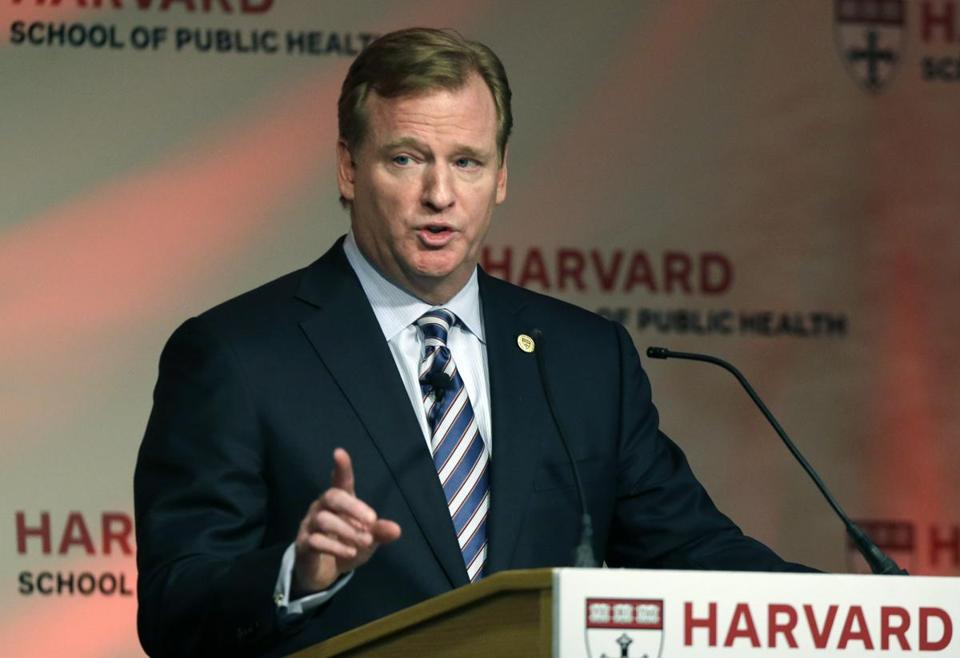 NFL commissioner Roger Goodell knows there is a long way to go when it comes to brain trauma. Nobody is expecting everything to be solved overnight.
