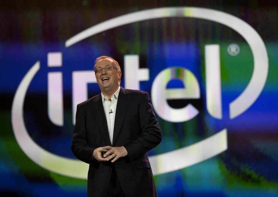 "Intel CEO Paul Otellini said, ""It's time to move on and transfer Intel's helm to a new generation of leadership."""