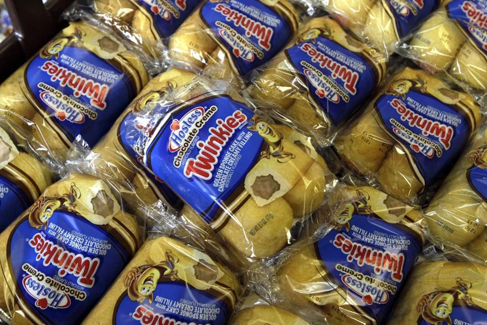 Twinkies for sale at the Hostess Brands' bakery in Denver, Colo.