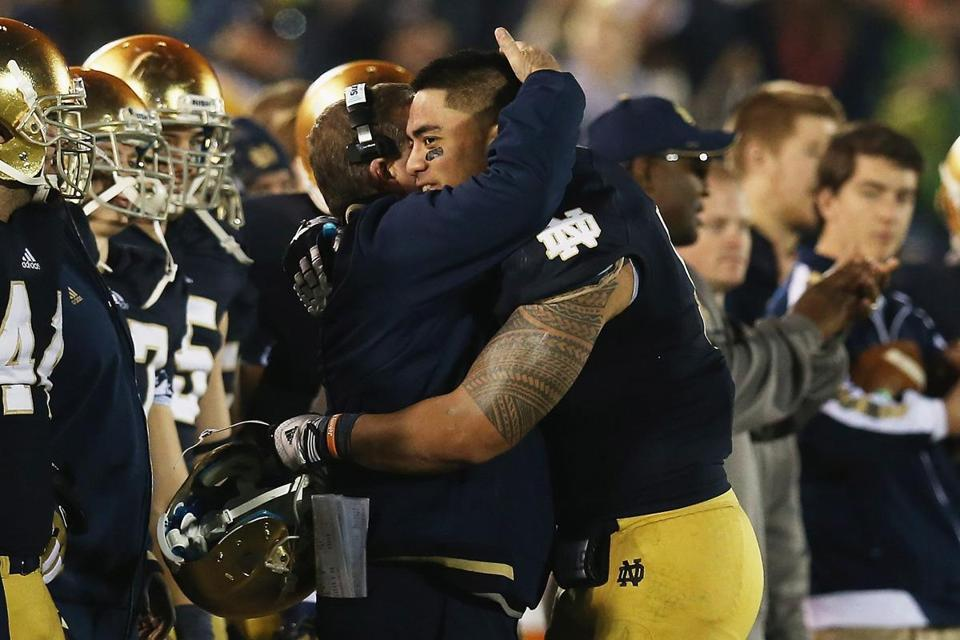 Brian Kelly and Manti T'eo have led ND to an 11-0 mark.
