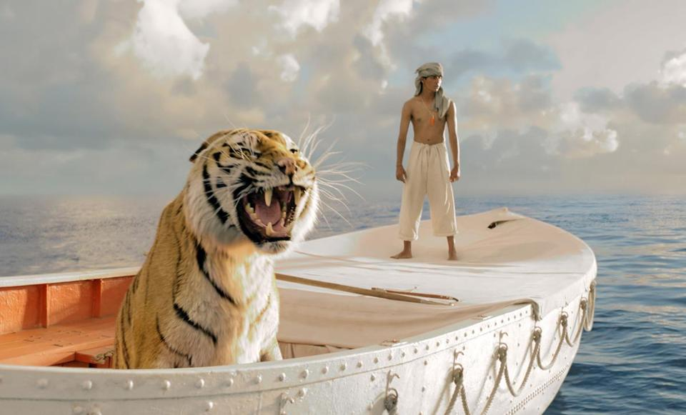 "Suraj Sharma in director Ang Lee's ""Life of Pi."""