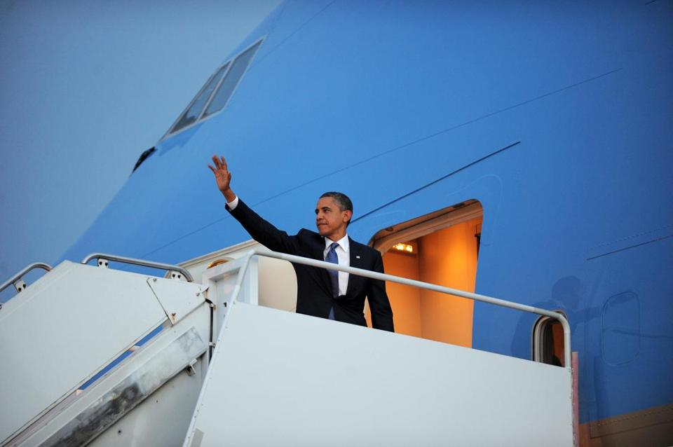 President Obama departed Phnom Penh Tuesday after attending an Association of Southeast Asian Nations.
