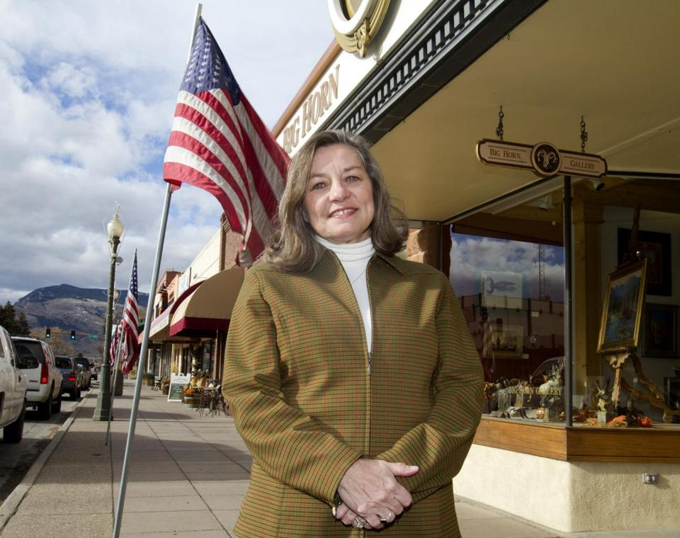 Mayor Nancy Tia Brown just won a second and final term as mayor of Cody, Wyo., a town of 9,600 major campaigns bypassed completely.