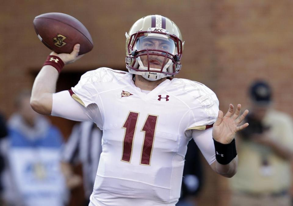 Junior quarterback Chase Retting hopes his class can leave a better legacy at BC.