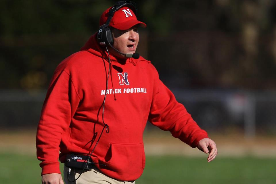 "Natick coach Mark Mortarelli said Thursday's matchup against Framingham is ""our biggest game of the year.''"