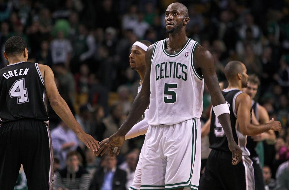 Kevin Garnett and the Celtics are a .500 team again.