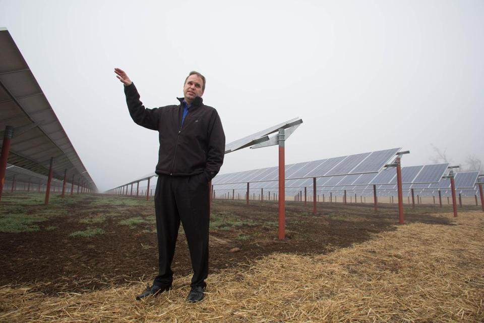 Brent Anderson is operations manager at a Wanxiang solar facility in Illinois.